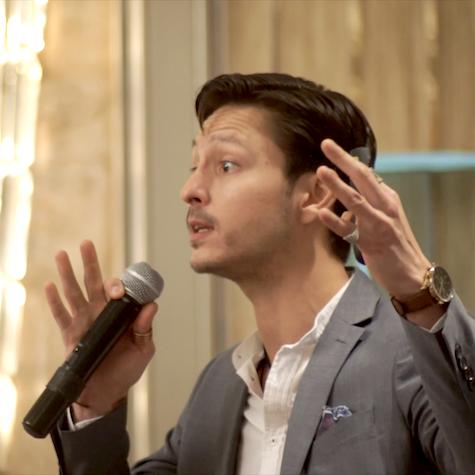 Sam Bobertz Speaking at HR Magazine Conference - StarMaker HK